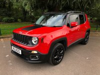 USED 2015 15 JEEP RENEGADE 1.4L LONGITUDE 5d 138 BHP £1870 OF FACTORY EXTRAS....