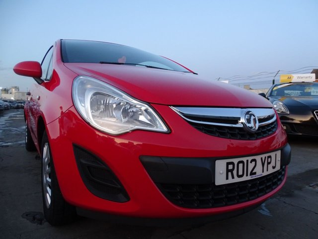 USED 2012 12 VAUXHALL CORSA 1.0 S ECOFLEX 3d CHEAP INSURANCE AND TAX
