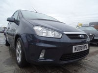 USED 2008 08 FORD C-MAX 1.8 ZETEC 5d GOOD SERVICE HISTORY