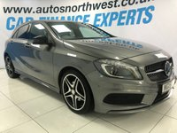 USED 2015 15 MERCEDES-BENZ A CLASS 1.6 A200 AMG NIGHT EDITION 5d AUTO 154 BHP