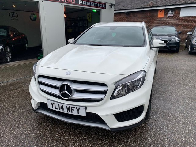 MERCEDES-BENZ GLA-CLASS at Euxton Sports and Prestige