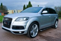 USED 2014 64 AUDI Q7 3.0 TDI S line Tiptronic quattro 5dr HIGH TECH PACK+TV+BOSE+CAMERA
