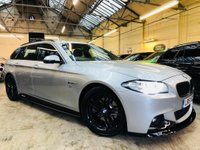 USED 2015 15 BMW 5 SERIES 2.0 520d M Sport Touring 5dr YNC PERFROMANCE STYLING