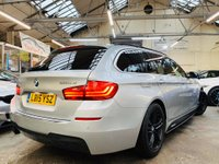 USED 2015 15 BMW 5 SERIES 2.0 520d M Sport Touring 5dr YNC PERFORMANCE STYLING