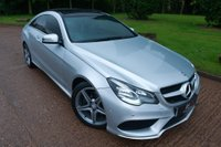 USED 2013 63 MERCEDES-BENZ E CLASS 2.1 E250 CDI AMG Sport 7G-Tronic Plus 2dr NAV+PAN ROOF+HEATED LEATHER