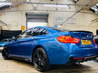 USED 2015 15 BMW 4 SERIES 2.0 420d M Sport Gran Coupe (s/s) 5dr PERFORMANCE KIT 19S HK PRO NV