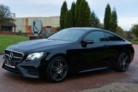USED 2018 18 MERCEDES-BENZ E CLASS 2.0 E220d AMG Line G-Tronic+ (s/s) 2dr NAV+CAMERA+NIGHT PACK