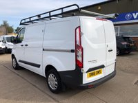 USED 2016 16 FORD TRANSIT CUSTOM 2.2 270 TREND L1 H1 SWB 125 BHP LOW MILES