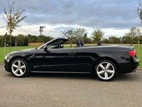 USED 2012 12 AUDI A5 3.0 TDI QUATTRO S LINE AUTO 245 BHP 2DR CONVERTIBLE + BOSE+ SAT NAV+ XENONS+