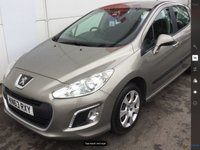 USED 2013 63 PEUGEOT 308 1.6 HDI ACCESS 5d 92 BHP Diesel, low tax, economical, 47000 miles, stunning example.