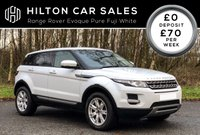 2012 LAND ROVER RANGE ROVER EVOQUE 2.2 ED4 PURE 5d 150 BHP SOLD