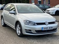 USED 2015 65 VOLKSWAGEN GOLF 1.6 MATCH TDI BLUEMOTION TECHNOLOGY DSG 5d AUTO 109 BHP FRONT AND REAR PARKING AID *  BLUETOOTH +   MEDIA CONNECTIVITY +  CRUISE CONTROL *  DAB RADIO *  MOT JULY 2020 *