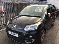 USED 2011 11 CITROEN C3 PICASSO 1.6 PICASSO BLACKCHERRY HDI 5d 90 BHP Diesel, mpv, low road tax, economical, 66000 miles, superb