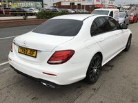 USED 2019 69 MERCEDES-BENZ E CLASS 2.0 E 220 D AMG LINE NIGHT EDITION PREMIUM 4d AUTO 192 BHP Brand new, cancelled order. Please call for full details