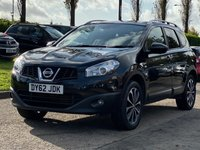 USED 2012 62 NISSAN QASHQAI+2 1.6 PLUS 2 N-TEC PLUS IS DCIS/S 5d 130 BHP 7 SEATS *  NAVIGATION SYSTEM +   BLUETOOTH *  PRIVACY GLASS *  PANORAMIC ROOF *