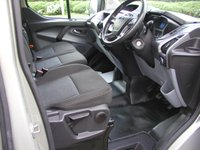 USED 2013 13 FORD TRANSIT CUSTOM 2.2 290 TREND LR 124 BHP LWB TAILGATE VAN 53000 miles, Service History, 12 Months MOT, 6 Month Warranty