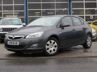 USED 2010 10 VAUXHALL ASTRA 1.4 EXCLUSIV 5d 98 BHP ECONOMICAL FAMILY HATCHBACK