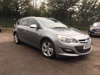 2013 VAUXHALL ASTRA 2.0 CDTI SRI  S/S 5d  ESTATE WITH SERVICE HISTORY  £3500.00