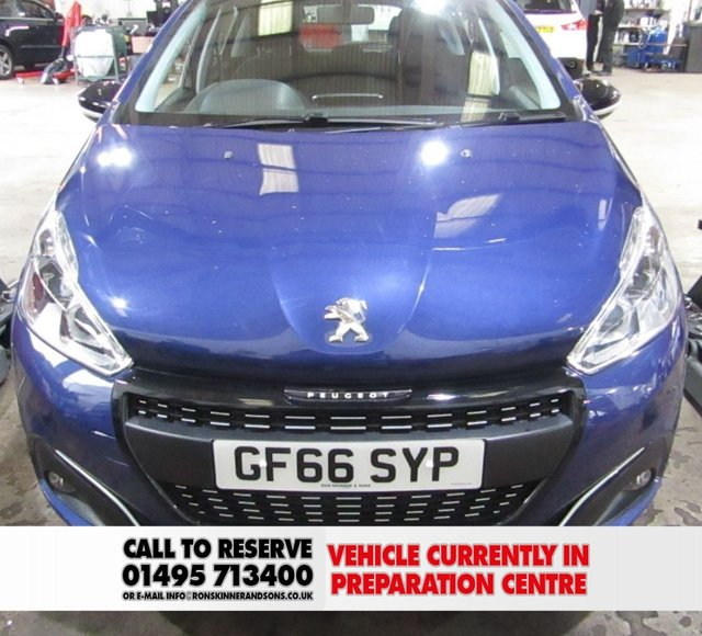 View our 2016 66 PEUGEOT 208 1.2 PURETECH ACTIVE DESIGN MENTHOL 5d 82 BHP