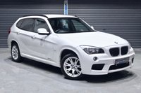 USED 2011 61 BMW X1 X DRIVE 20D M SPORT  ** WHITE M SPORT WITH CINNAMON LEATHER, LOW MILEAGE, MUST BE VIEWED **