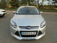USED 2013 63 FORD FOCUS 1.0 ZETEC S S/S 5d 124 BHP