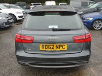 USED 2012 62 AUDI A6 2.0 AVANT TDI S LINE 5d 175 BHP FASH+GREAT SPEC + CONDITION