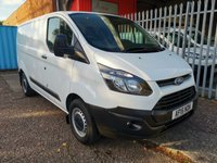 2015 FORD TRANSIT CUSTOM 290 SWB Low roof L1 H1 100 PS *ONLY 29000 MILES* £SOLD