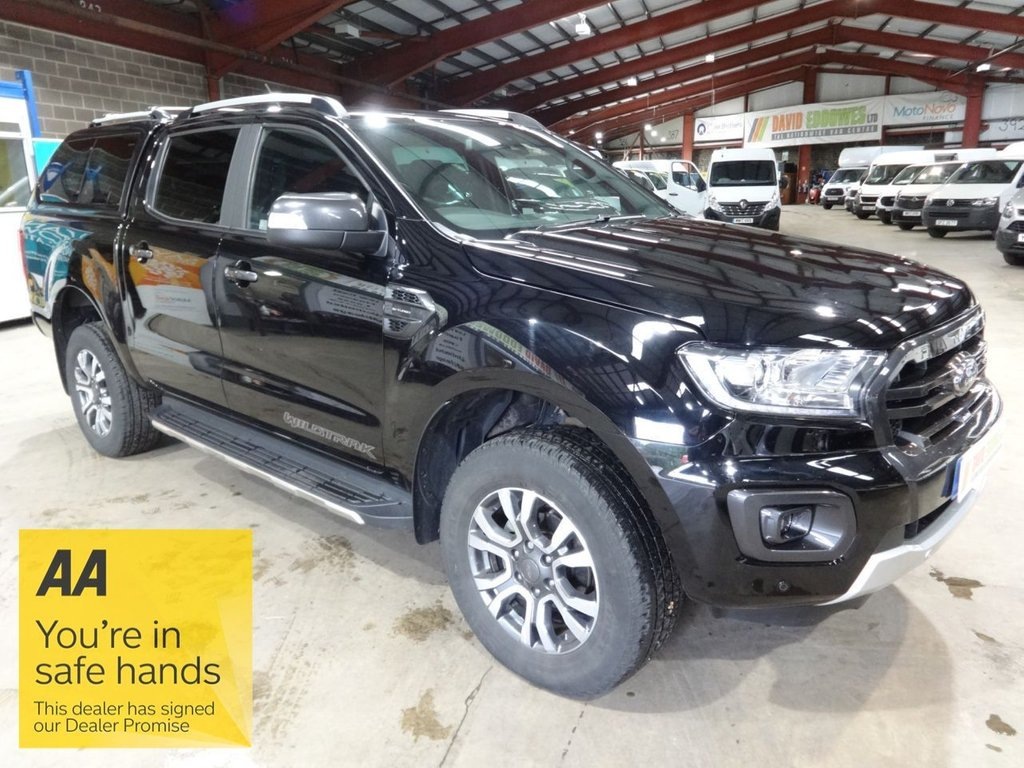 USED 2019 69 FORD RANGER 2.0 WILDTRAK ECOBLUE AUTO 210 BHP DOUBLE CAB PICK UP PICK UP