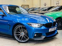 USED 2017 17 BMW 4 SERIES 2.0 420d M Sport Gran Coupe (s/s) 5dr PERFORMANCE KIT 19S FSH 1OWNER