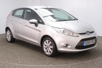 USED 2009 59 FORD FIESTA 1.4 ZETEC 16V 5DR 96 BHP FULL SERVICE HISTORY + AIR CONDITIONING + MULTI FUNCTION WHEEL + RADIO/CD/AUX + ELECTRIC MIRRORS + ELECTRIC MIRRORS + 15 INCH ALLOY WHEELS