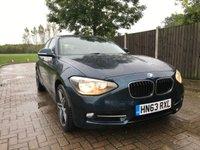 USED 2014 63 BMW 1 SERIES 2.0 118D SPORT 5d 141 BHP