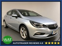 USED 2016 16 VAUXHALL ASTRA 1.4 SRI NAV S/S 5d AUTO 148 BHP FULL VAUXHALL HISTORY - 1 OWNER - SAT NAV - PARKING SENSORS - AIR CON - BLUETOOTH - DAB - CRUISE