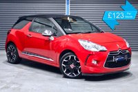 USED 2013 13 CITROEN DS3 1.6 E-HDI D SPORT PLUS **£0 ROAD TAX,  BLACK LEATHER** ** £0 ROAD TAX, BLACK LEATHER INTERIOR, D SPORT PLUS MODEL **