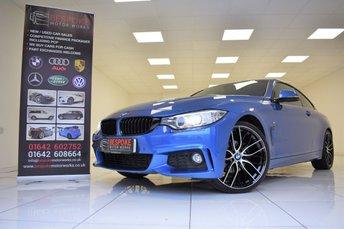 2014 BMW 4 SERIES 420I M SPORT AUTOMATIC £17995.00