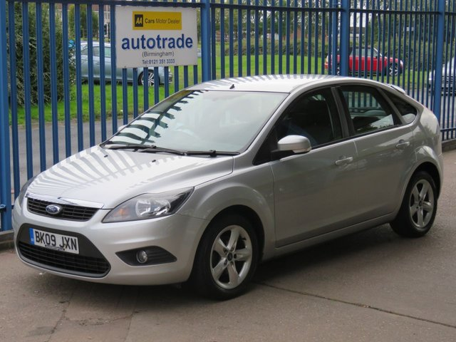 USED 2009 09 FORD FOCUS 1.6 ZETEC TDCI 5dr Air con Fogs Alloys Finance arranged Part exchange available Open 7 days