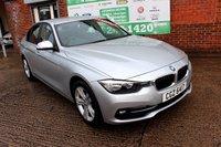 USED 2016 16 BMW 3 SERIES 2.0 318D SPORT 4d 148 BHP +ONE OWNER +LOW TAX +SAT NAV.