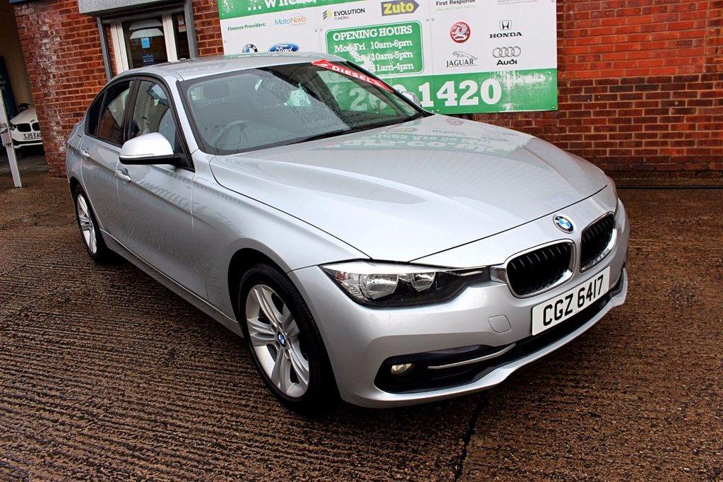 2016 16 BMW 3 SERIES 2.0 318D SPORT 4d 148 BHP