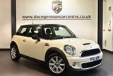 "USED 2012 62 MINI HATCH COOPER 1.6 COOPER S 3DR 184 BHP full service history Finished in a stunning pepper white styled with 16"" alloys. Upon opening the drivers door you are presented with half leather interior, full service history, dab radio, sport seats, Dynamic stability control, Rear fog lights, Air conditioning, Sport button"