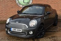 2015 MINI COUPE 1.6 COOPER 2d 120 BHP £7990.00