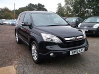 USED 2009 59 HONDA CR-V 2.2 I-CTDI EX 5d 139 BHP High Spec, Low Mileage Civic! Drives Lovely, Will Have Full Year MOT Put On!