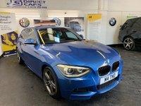 USED 2012 12 BMW 1 SERIES 2.0 120D M SPORT 5d 181 BHP