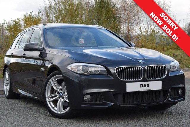 2013 13 BMW 5 SERIES 2.0 520D M SPORT TOURING 5d AUTO 181 BHP