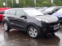 USED 2016 16 KIA SPORTAGE 1.7 CRDI 2 ISG 5d 114 BHP 1 OWNER  HIGH SPEC LOW MILEAGE FSH WITH NAV AND REVERSE CAMERA