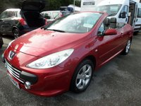 2005 PEUGEOT 307 2.0 S COUPE CABRIOLET 2d 139 BHP FULL LEATHER 35000 MILES £1995.00