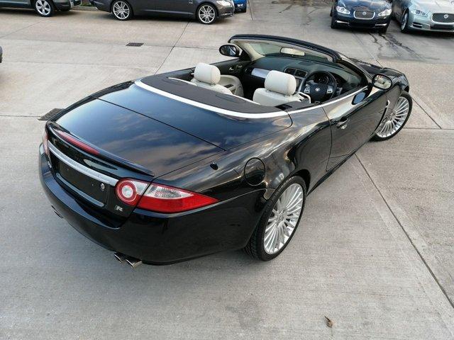 2007 07 JAGUAR XKR 4.2 XKR 2d AUTO 416 BHP