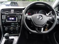 USED 2013 13 VOLKSWAGEN GOLF 2.0 GT TDI BLUEMOTION TECHNOLOGY 5d 148 BHP HIGH SPECIFICATION,NAIGATION,FRONT AND REAR PARKING PACK