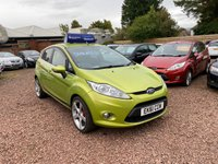 USED 2011 61 FORD FIESTA 1.2 ZETEC 5d 81 BHP GREAT LOW MILEAGE EXAMPLE WITH SERVICE HISTORY