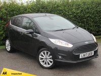 USED 2017 17 FORD FIESTA 1.0 TITANIUM 3d 99 BHP * 128 POINT AA INSPECTED * 12 MONTHS FREE AA MEMBERSHIP *