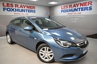 USED 2015 65 VAUXHALL ASTRA 1.4 TECH LINE 5d 123 BHP Sat Nav, Bluetooth, Great MPG, Air con, 1 Owner