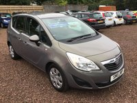 USED 2011 11 VAUXHALL MERIVA 1.7 EXCLUSIV CDTI 5d 128 BHP 1 LADY OWNER FROM NEW LOW MILEAGE EXAMPLE IN SUPERB CONDITION